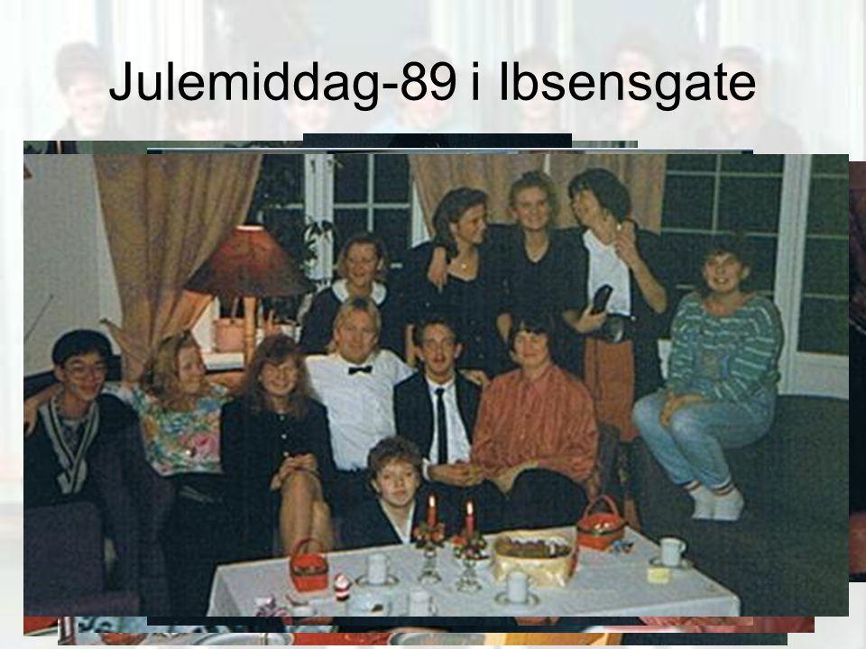 Julemiddag-89 i Ibsensgate