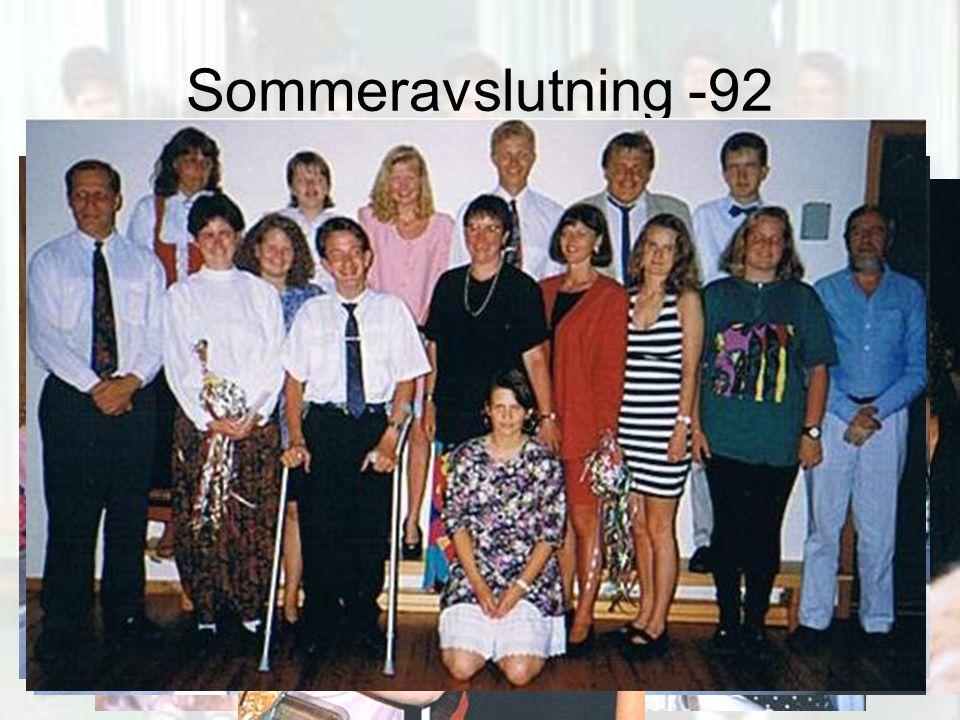 Sommeravslutning -92