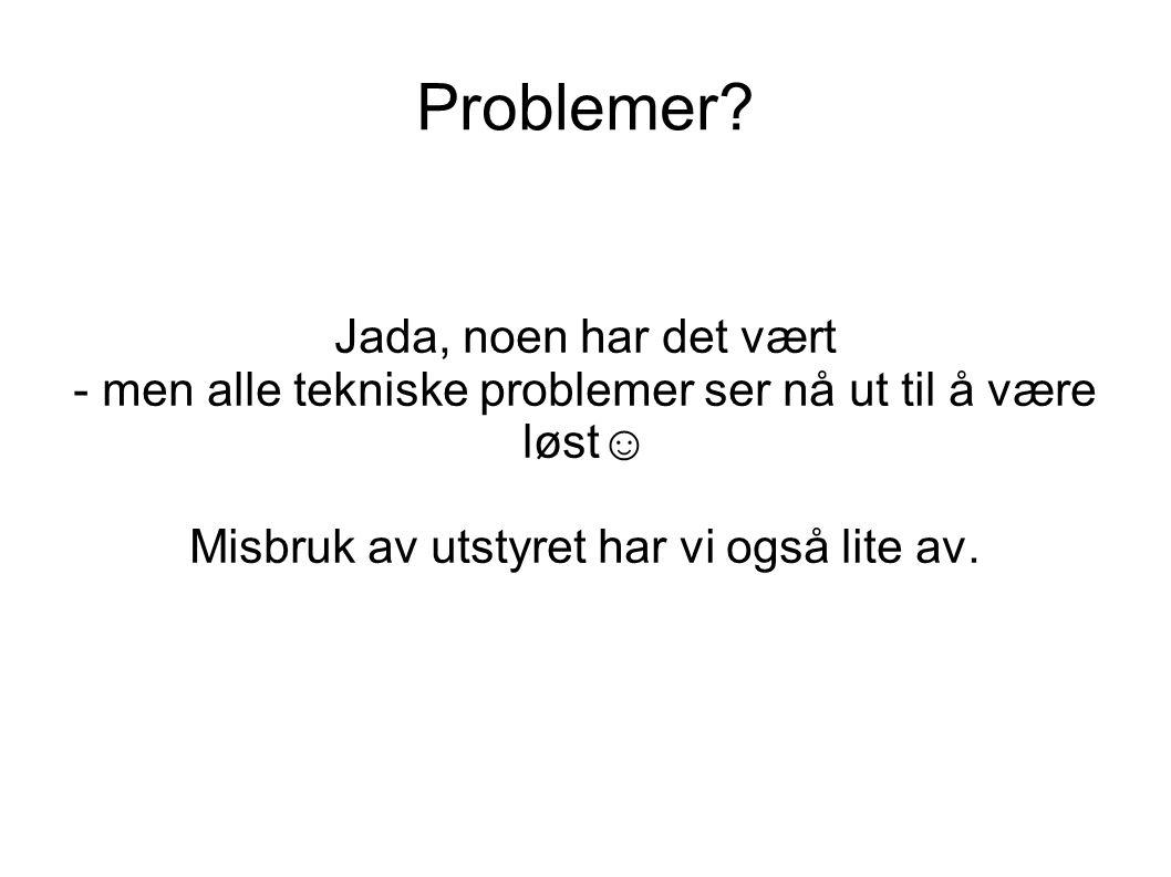 Problemer.