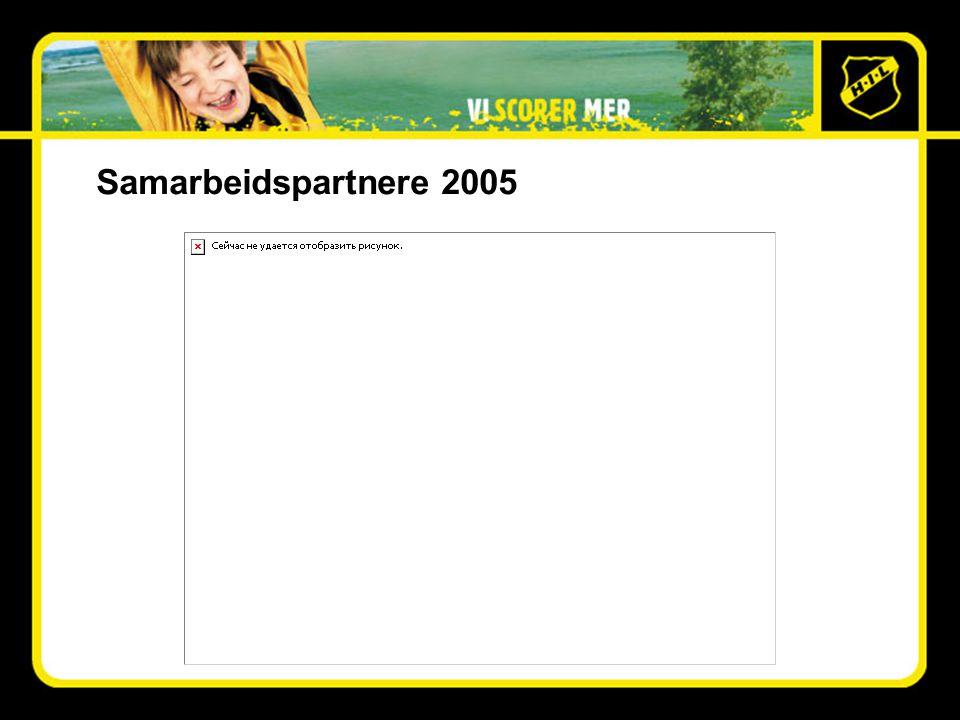 Samarbeidspartnere 2005