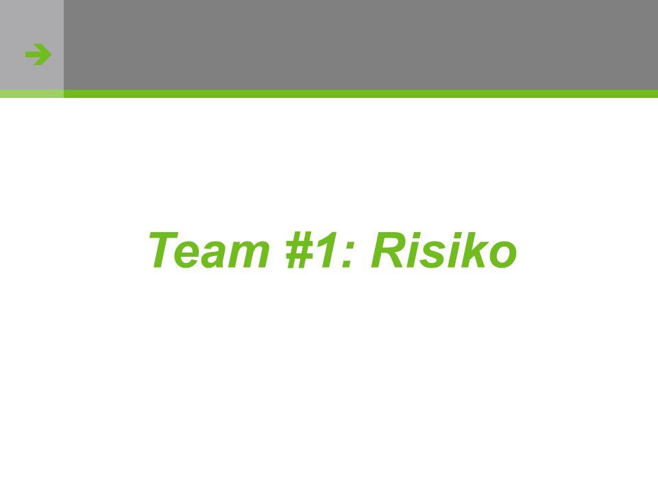  http://flickr.com/photos/oh_simone/2800426735/ Team #1: Risiko