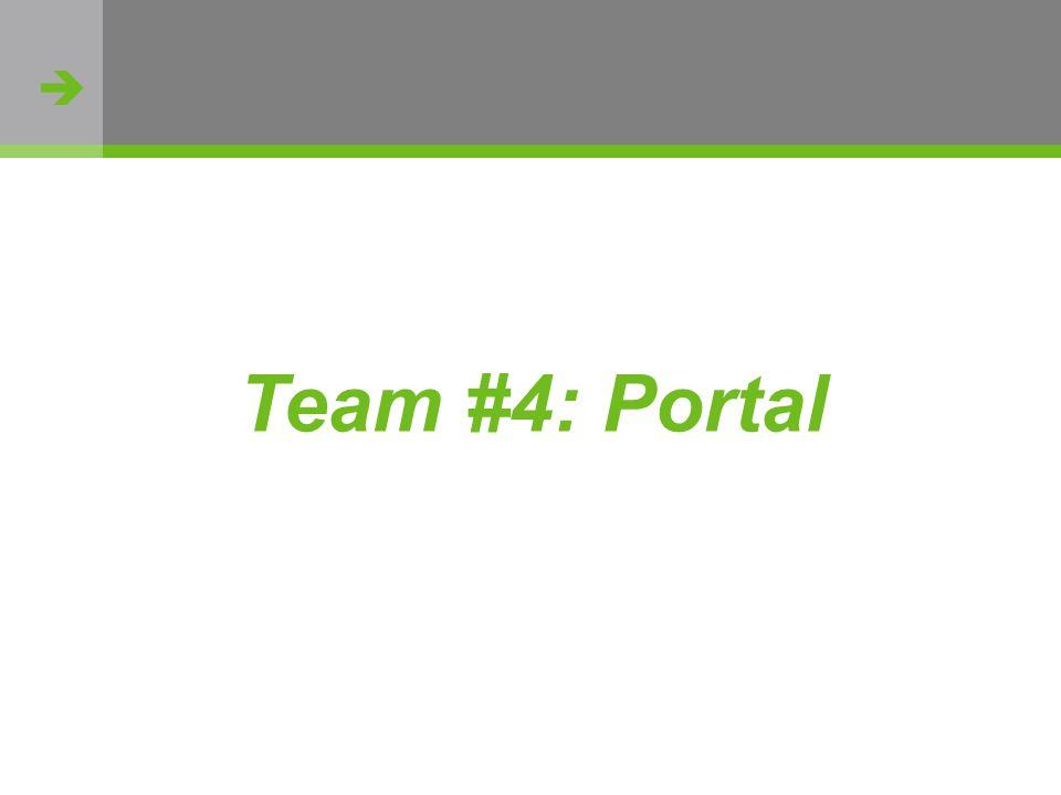 http://flickr.com/photos/oh_simone/2800426735/ Team #4: Portal