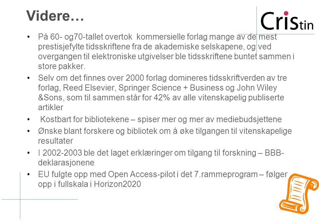 Openaccess.no