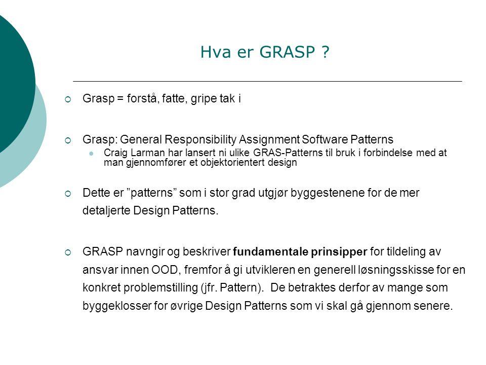 Hva er GRASP .