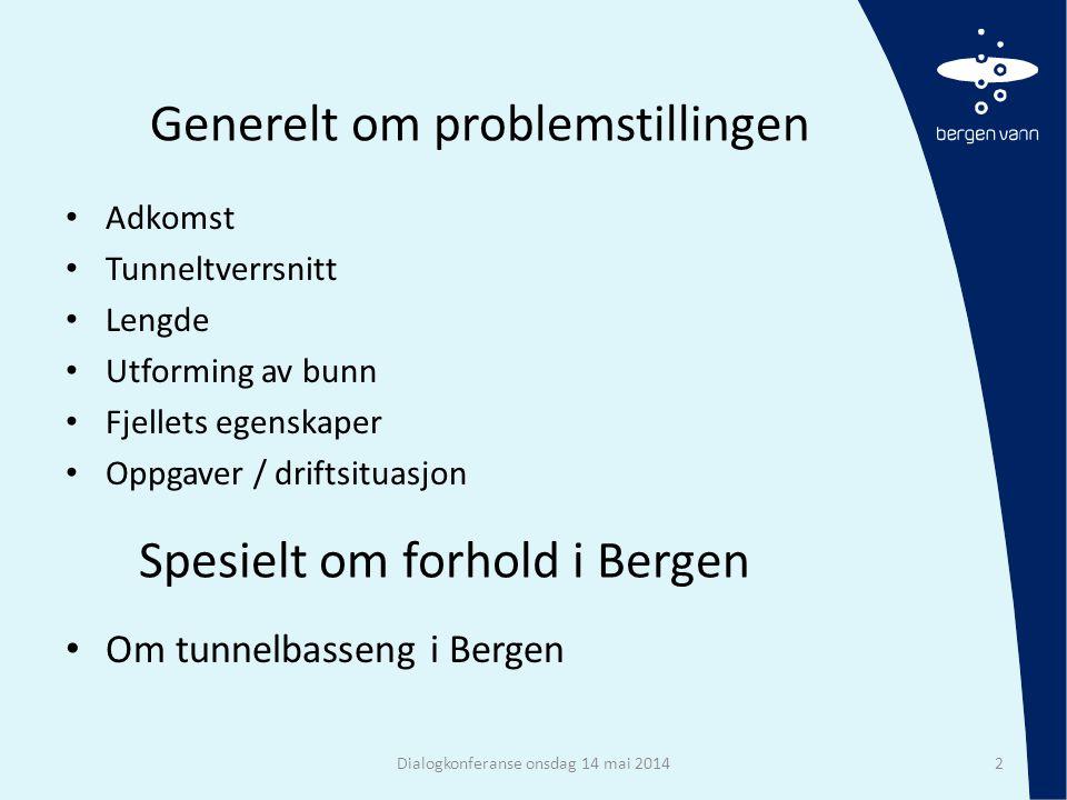 Basseng i Bergen Dialogkonferanse onsdag 14 mai 201413