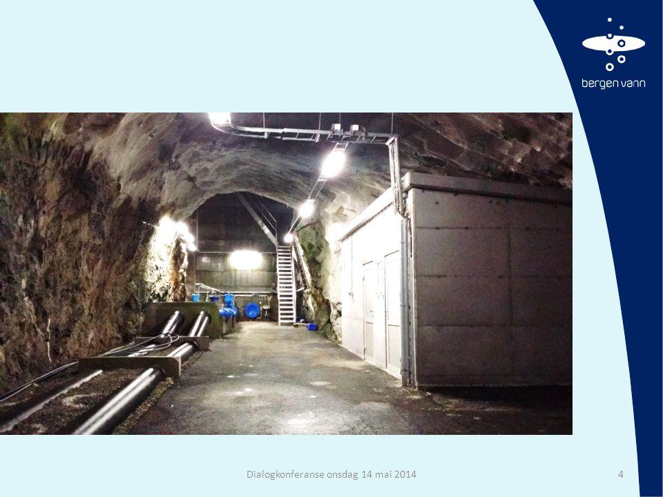 Basseng i Bergen Dialogkonferanse onsdag 14 mai 201415 Oppsummert: 22 tunnelbasseng for drikkevann Totalt volum i tunnel ca.