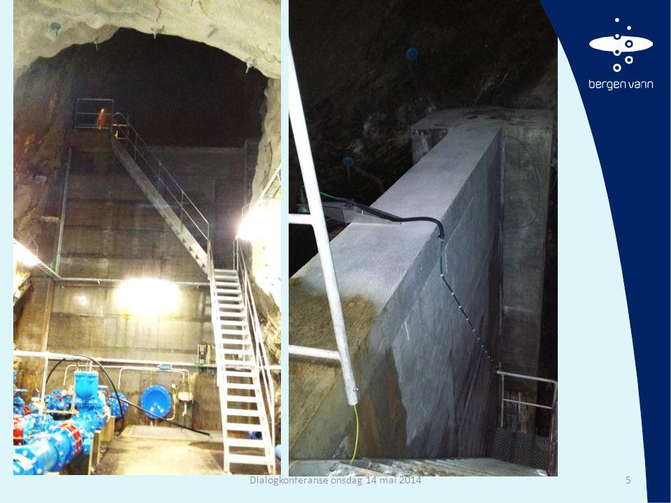 Tunneltverrsnitt • Gamle tunneler kan være små (~ 4 m2) • Normalt varierer tverrsnittet mellom 18 til 30 m2 • Kan også finnes større i form av «fjellhaller» Dialogkonferanse onsdag 14 mai 20146