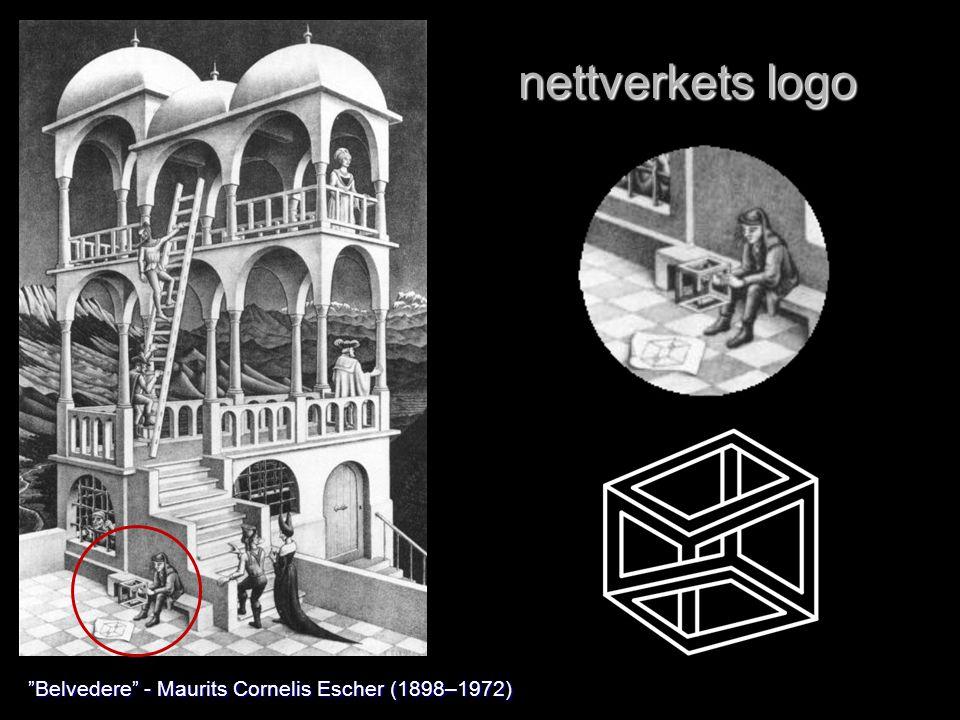 nettverkets logo Belvedere - Maurits Cornelis Escher (1898–1972)