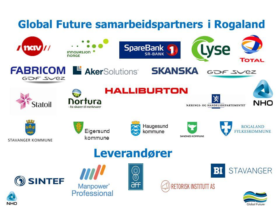 Global Future samarbeidspartners i Rogaland Eigersund kommune Leverandører