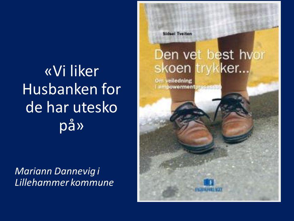 «Vi skal jakte nye løsninger og høste erfaringer med andre kommuner» Lillehammers forventninger i oppstart av programdeltagelse i Boligsosialt utviklingsprogram