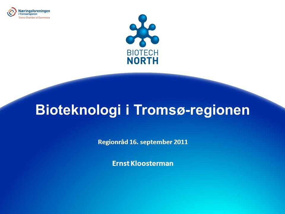  Bioteknologi  Bioteknologimiljøet i Tromsøregionen  BioTech North  Mål og oppgaver  Gjort til nå, skissering fremover  Konklusjon Innhold