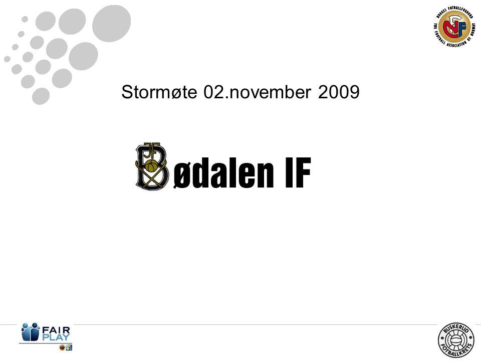 Stormøte 02.november 2009