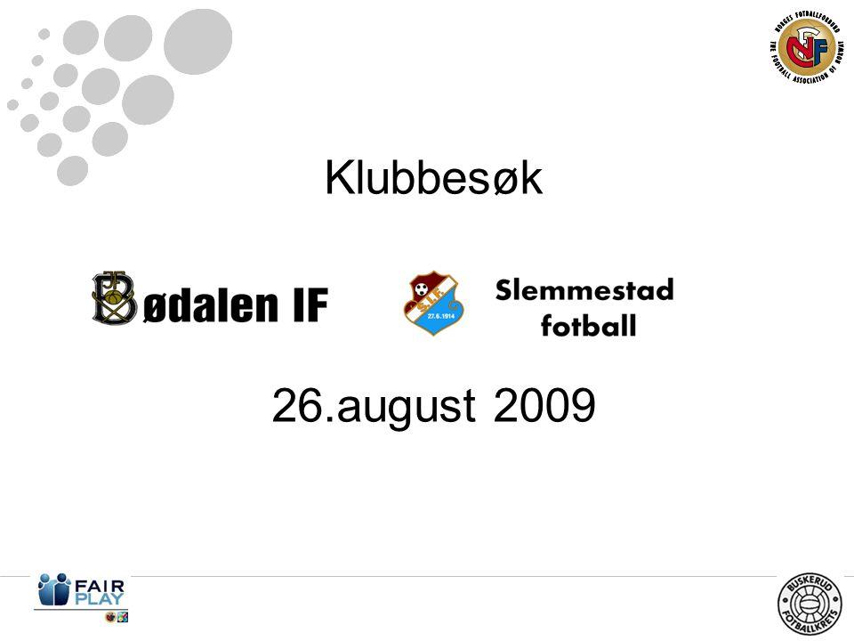 Klubbesøk 26.august 2009