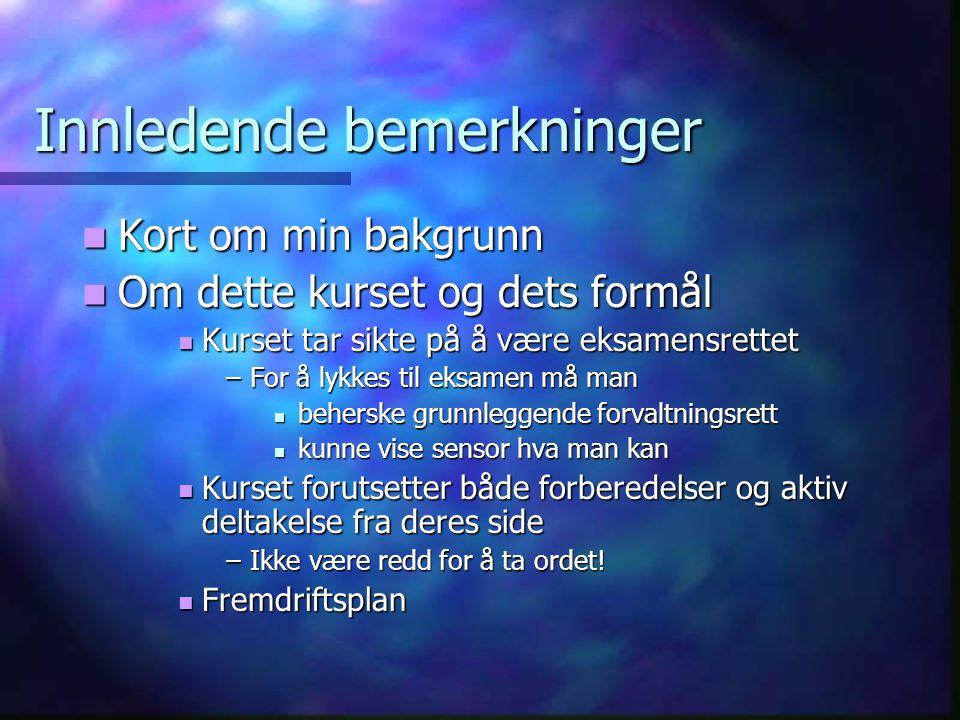 Kursoppgave i miljørett - III  Dernest må det (evt.