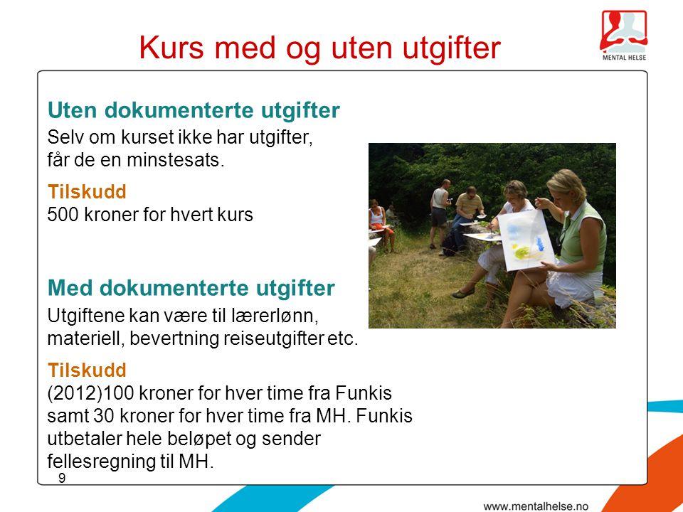 20 Funkis – tidligere Funksjonshemmedes studieforbund (FS)  54 medlemsorganisasjoner  ca 316 000 medlemmer  fylkesledd i de fleste fylker  sekretariat i Oslo  pr.