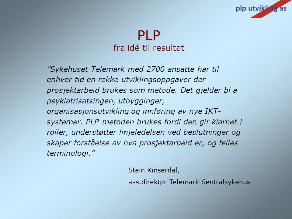 """""""Sykehuset Telemark med 2700 ansatte har til enhver tid en rekke utviklingsoppgaver der prosjektarbeid brukes som metode. Det gjelder bl a psykiatrisa"""