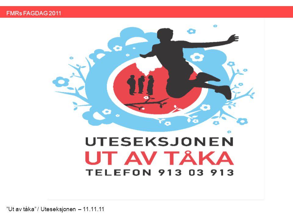 Bakgrunn •Ut av tåka er en videreføring av arbeidet Uteseksjonen har hatt med målgruppen gjennom kurs i 2006 og 2007 samt erfaringer i gruppe og individuelt høsten 2010.