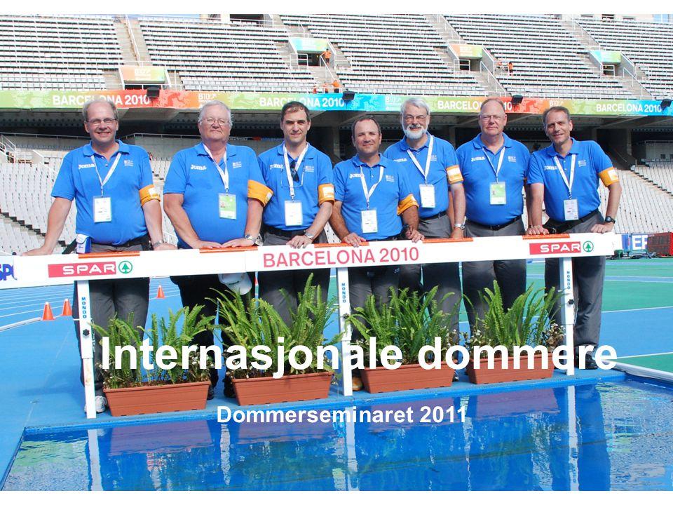Internasjonale dommere Dommerseminaret 2011