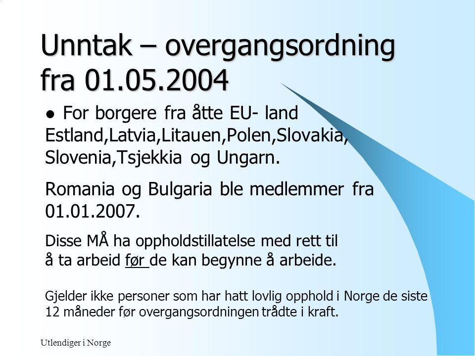Utlendiger i Norge Søknad om oppholdstillatelse med rett til arbeid  Hos politi  Utenriksstasjoner i hjemlandet Søknadsskjema med bilde Ansettelsesbevis eller arbeidsavtale Skjema Ansettelsesbevis for EØS/ EFTA – Borgere ( underskrevet) Vise pass