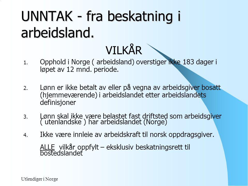 Utlendiger i Norge Eksempel Danske Andor Ravi er ansatt i virksomhet hjemmehørende i Danmark.