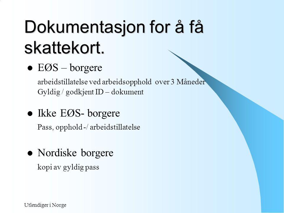 Utlendiger i Norge Tabellkort / Klasse 1 Trekktabelle r Klasse 2 71007200 Trygdeavgift 10,5 mnd trekk 71507250 Trygdeavgift 12 mnd trekk Utskrevet SFU 73007400 Som vanlig med 10% standardfradrag 73507450 12 mnd trekk M/10% 71707270 10,5 mnd trekk uten trydeavgift 71607260 Uten Trygdeavgift 12 mnd trekk Utskrevet SFU 75507650 Som vanlig med 10% standardfradrag uten trygdeavgift 75007600 12 mnd trekk M/10% Uten trygdeavgift