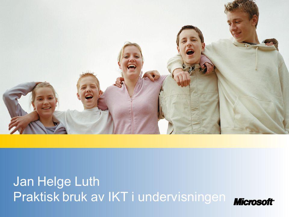 AGENDA •Program for innovativ læring- Fra globalt til Norsk perspektiv •Erfaringer fra ASTROD prosjektet •Undervisningsmal for lærere og elever -VCT •Skoleverktøy for lærere og elever •Muligheter fremover