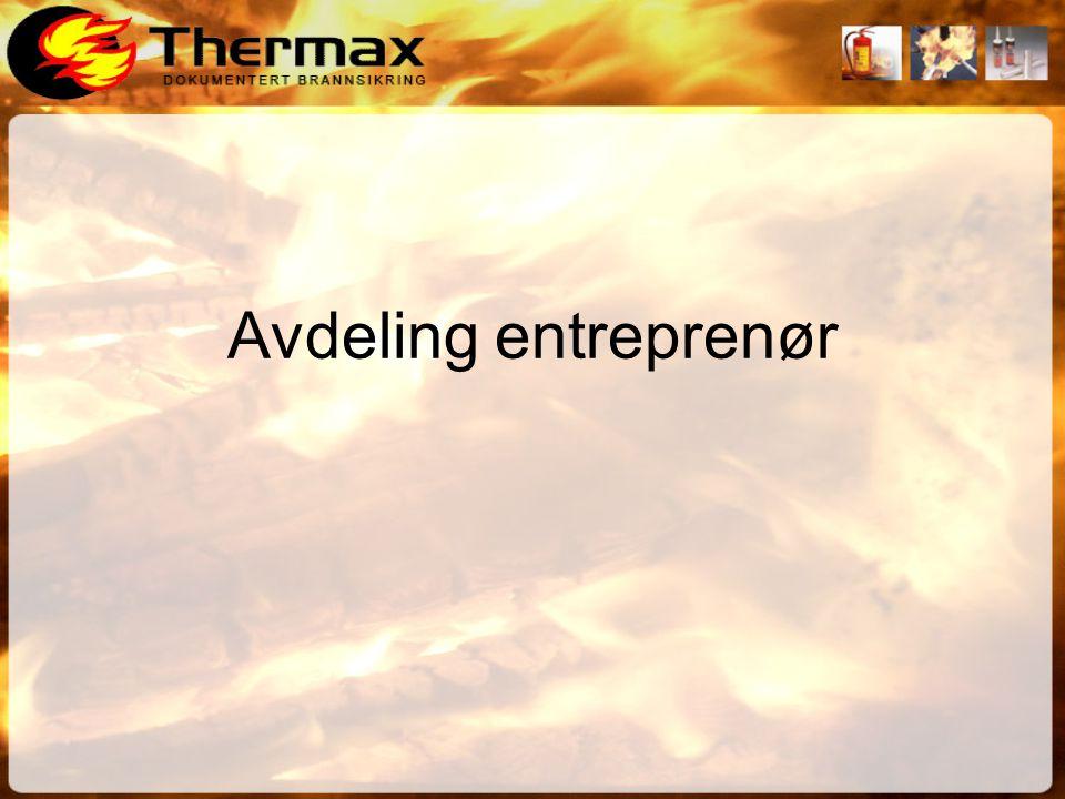 Avdeling entreprenør