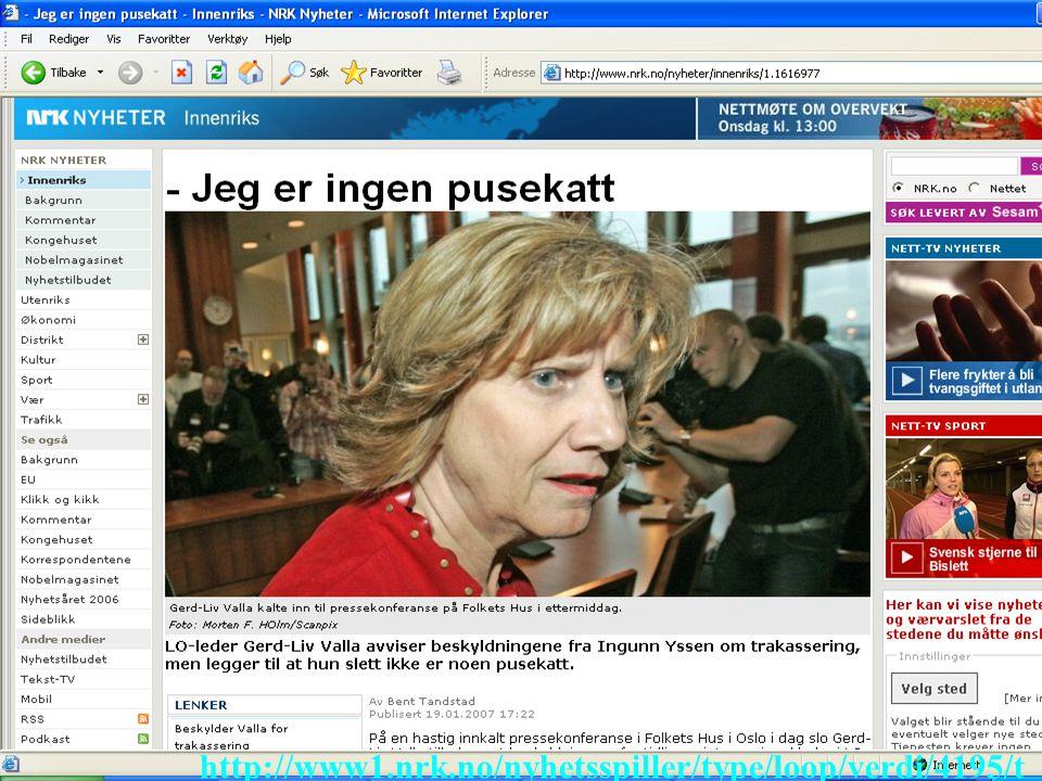 http://www1.nrk.no/nyhetsspiller/type/loop/verdi/4195/t ab/nyheter