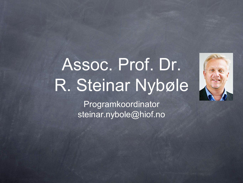Prof. Dr. philos. Elin Nesje Vestli Rektor ved Høgskolen i Østfold elin.n.vestli@hiof.no