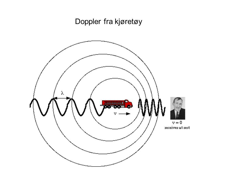 Doppler fra kjøretøy