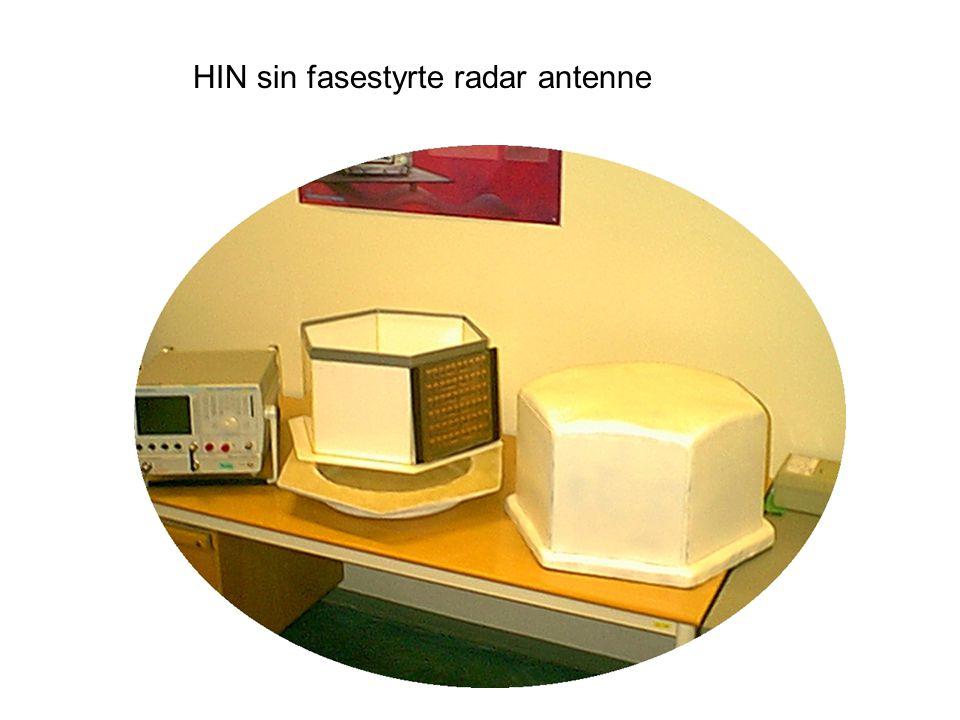HIN sin fasestyrte radar antenne