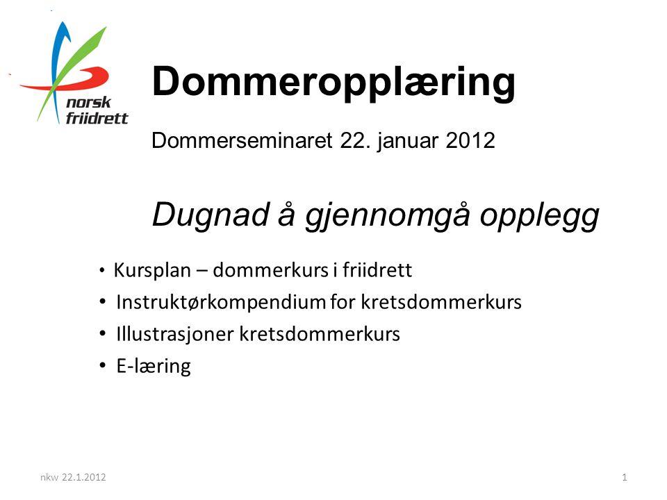 Norsk Friidrett mot 2015 nkw 22.1.20122