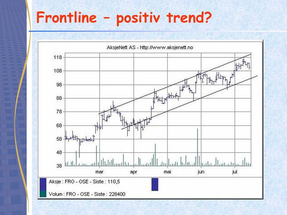 Frontline – positiv trend?
