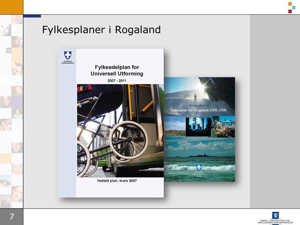 7 Fylkesplaner i Rogaland