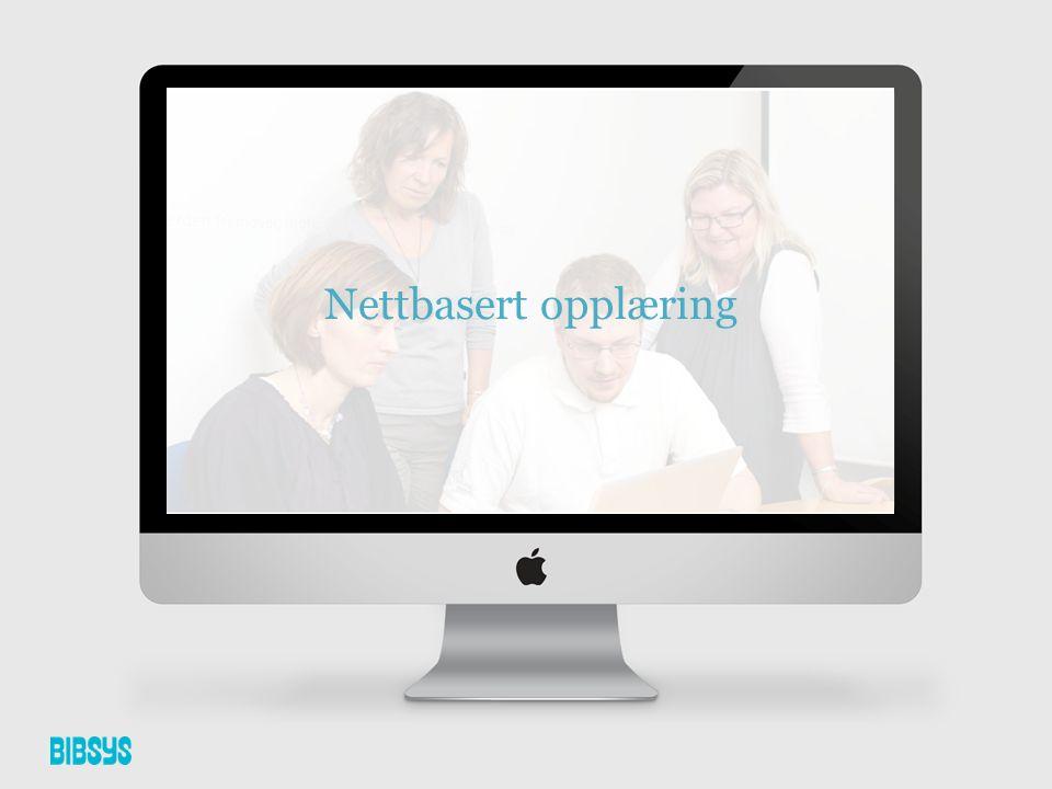 •Nettbasert kurs •Innspilte brukerveiledninger (Tutorials) •Interaktiv brukerhåndbok •Chat •Fjernvisning av skjerm Eksempler på nettbasert opplæring