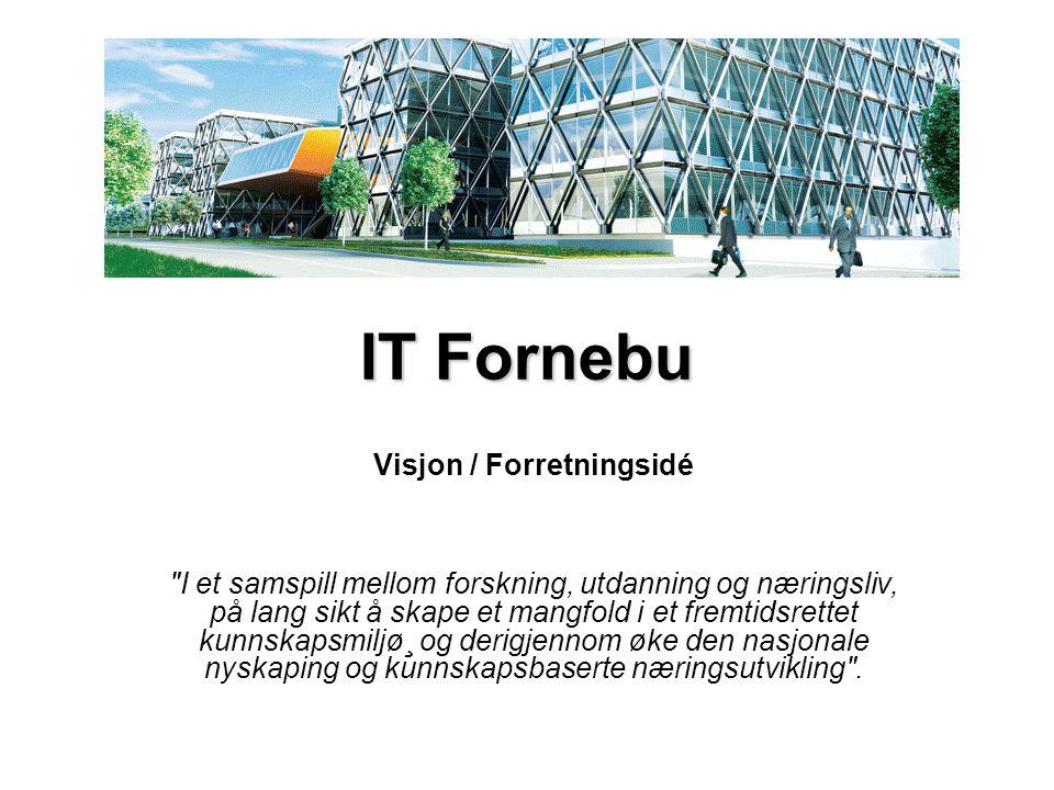 IKT Grenland Visjon: å være det mest attraktive område for lokalisering av programvareproduserende kunnskapsbedrifter i Norge.