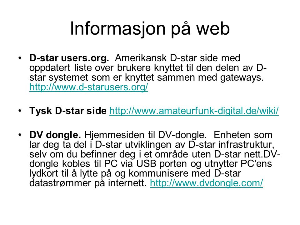 •D-star users.org.
