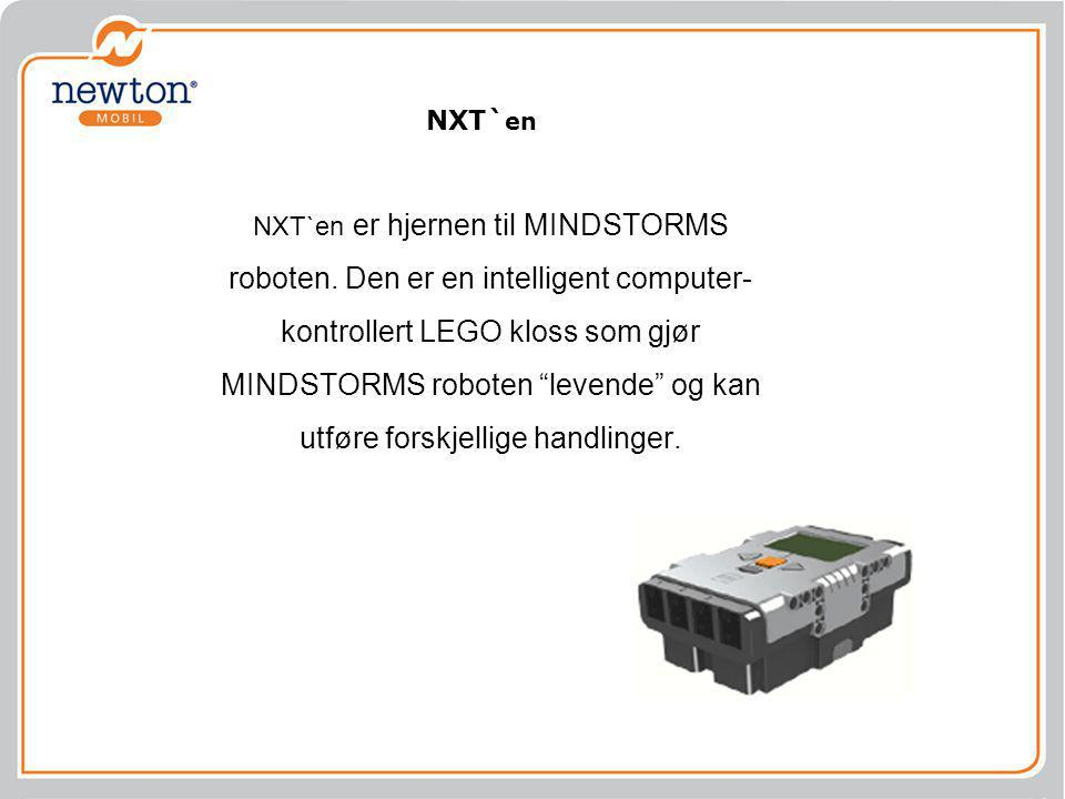 NXT`en er hjernen til MINDSTORMS roboten.