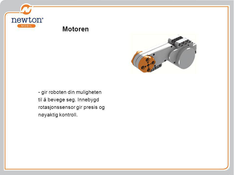 Motoren - gir roboten din muligheten til å bevege seg.