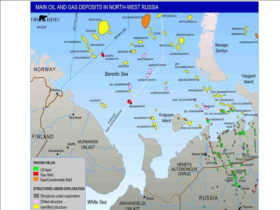 Oil Transportation from the Barents area