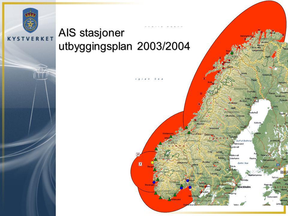 2003 2004 AIS stasjoner utbyggingsplan 2003/2004