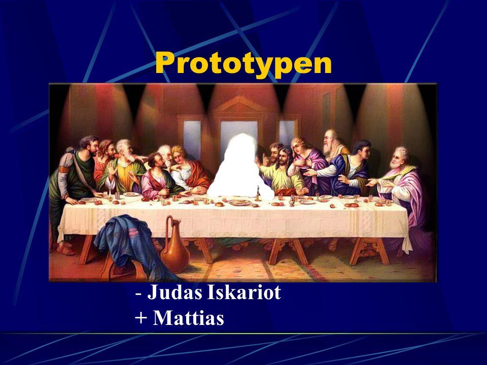 Prototypen - Judas Iskariot + Mattias