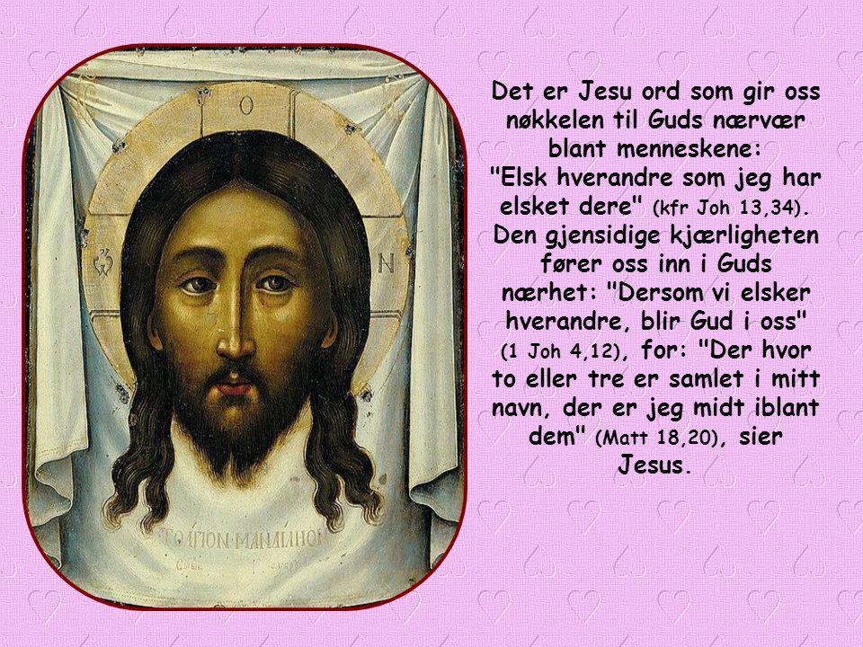 Basilius mente man måtte leve i pakt med Guds vilje, Fra nå av kan vi kristne, ved å etterleve dette bibelordet, oppnå at Gud er nærværende blant oss.