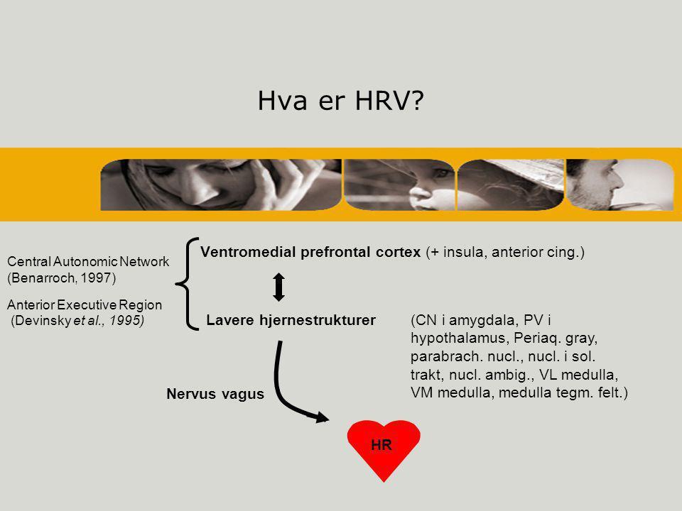 Hva er HRV.