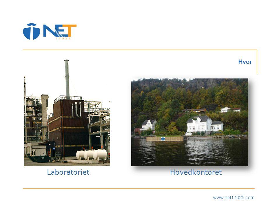www.net17025.com Hvor LaboratorietHovedkontoret