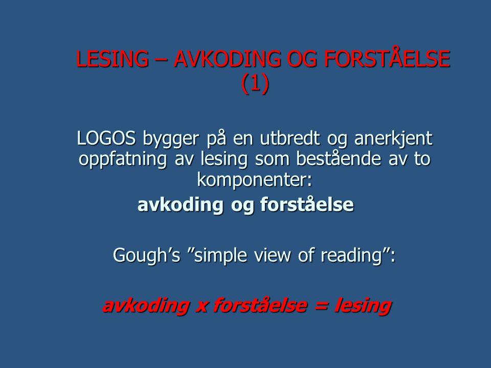  I senere tid har en innen leseforsking blitt stadig mer opptatt av betydningen også av leseflyt.