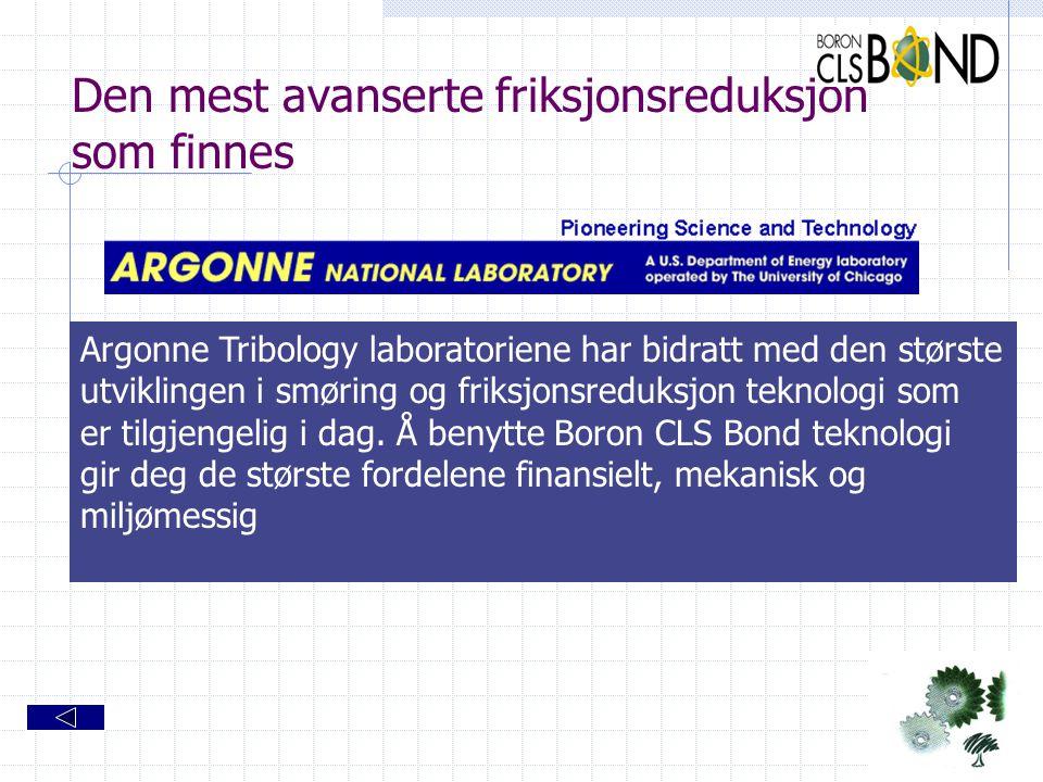 Den mest avanserte friksjonsreduksjon som finnes Argonne Tribology laboratoriene har bidratt med den største utviklingen i smøring og friksjonsreduksj