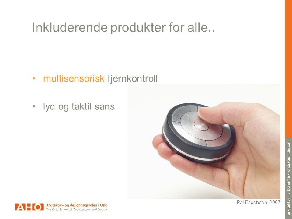 Model for teaching Design for diversity (T. Vavik, 2011)