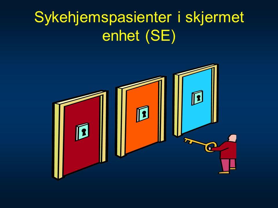 Sykehjemspasienter i skjermet enhet (SE)