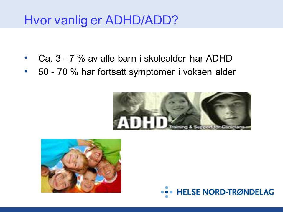 Add symptomer voksne